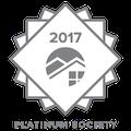 Platinum Society award 2017