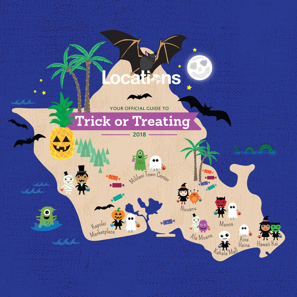 Honolulu's Best Neighborhoods for Trick-or-Treating | Locations on maui oahu map, waialua oahu map, waikiki oahu map, kawela bay oahu map, kapiolani oahu map, bellows beach oahu map, waiahole oahu map, disney aulani resort hawaii map, west oahu map, waianae oahu map, aloha stadium oahu map, kapahulu oahu map, waipahu oahu map, papakolea oahu map, dillingham airfield oahu map, waimanalo oahu map, waipio oahu map, ford island oahu map, kakaako oahu map, nuuanu oahu map,