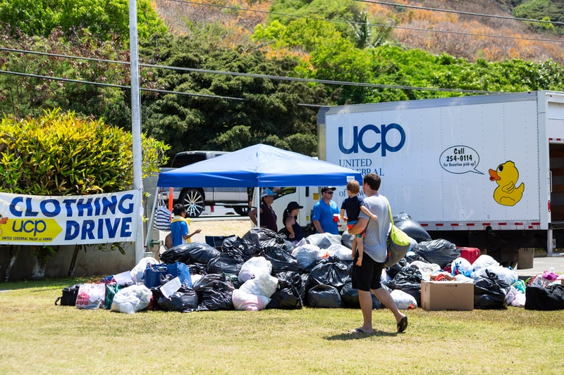 Foundation clothing drive