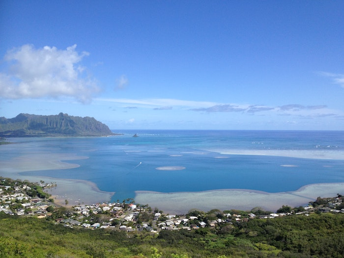 Kaneohe bay view
